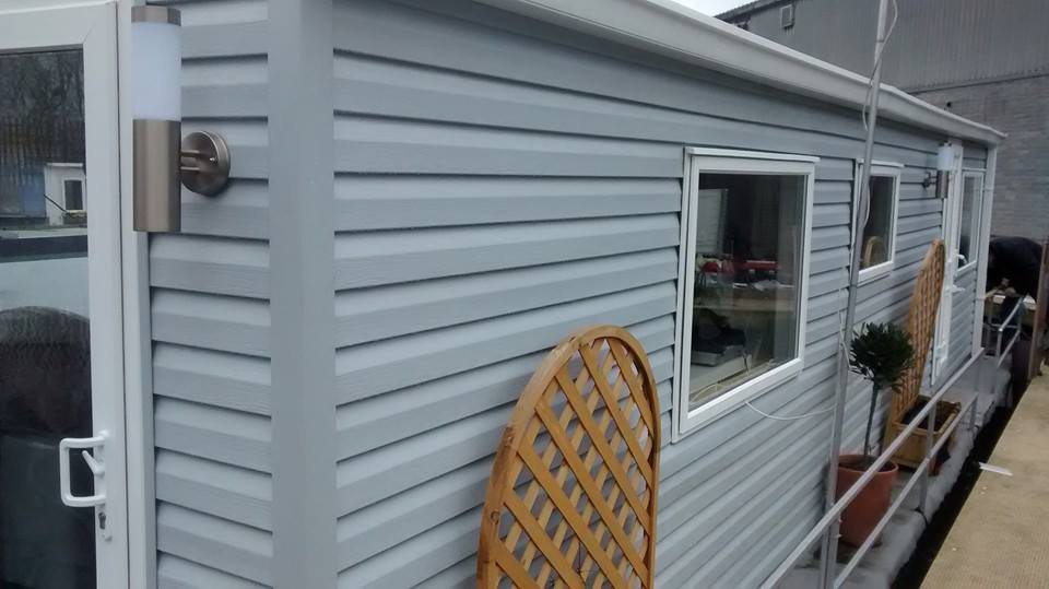 CARAVAN CLADDING PANELS ON STATIC
