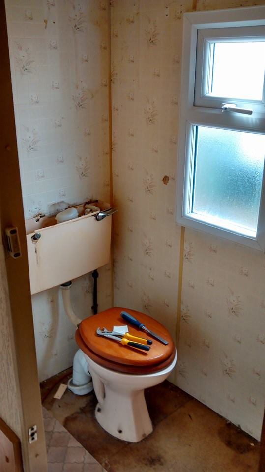 static caravan toilet new replacement