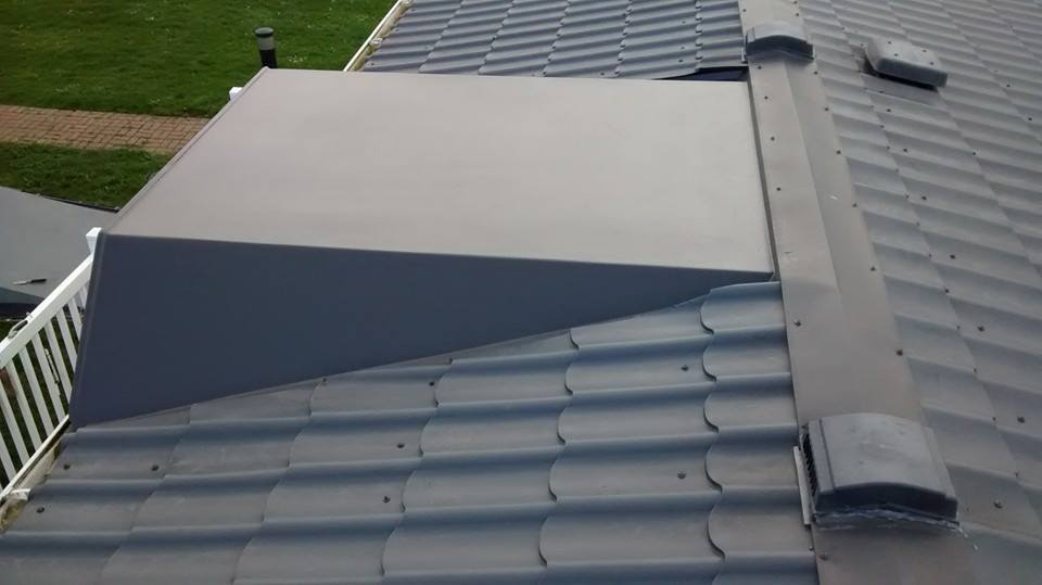 sns caravan repairs replaced caravan roof panels