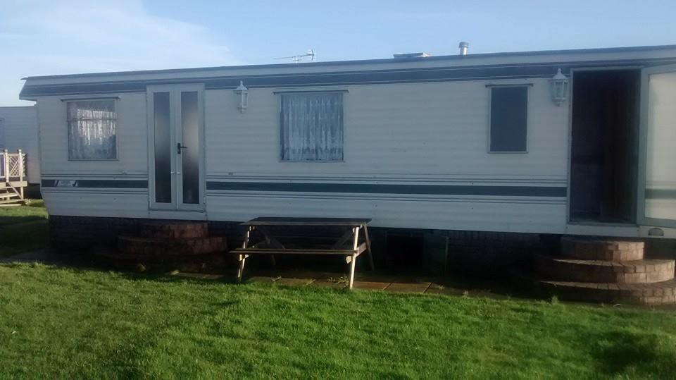 static caravan windows before photos