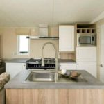 kitchen in corona skyline caravan