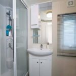 shower rooom in corona starlight super caravan