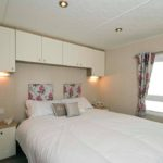 bedroom in corona quasar caravan