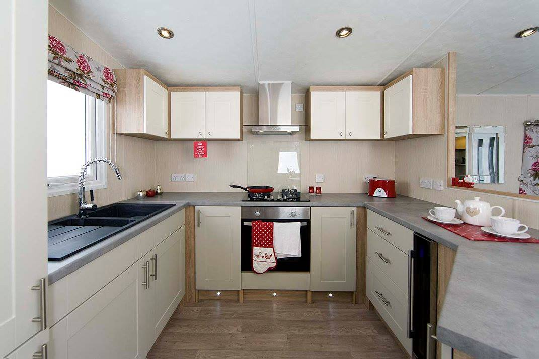 kitchen in corona quasar caravan